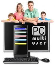 PCmultiuser logotip proizvoda