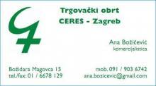 Vizitka Ceres-Zagreb d.o.o.